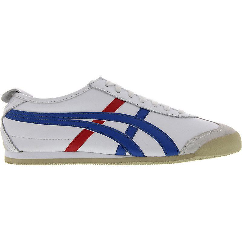 NEU-Onitsuka-Tiger-Mexico-66-WEISS-Damen-u-Herren-Sneaker-Freizeit-Schuhe