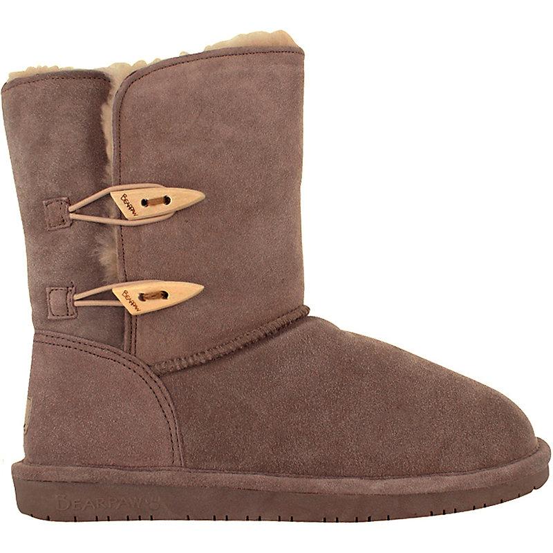 Details zu [NEU] Bearpaw Abigail Damen Sneaker Boot Beige