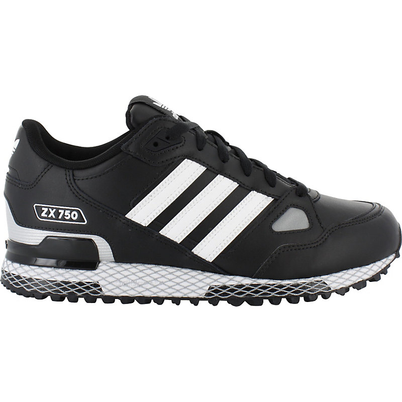 neu adidas zx 750 schwarz herren sneaker ebay. Black Bedroom Furniture Sets. Home Design Ideas