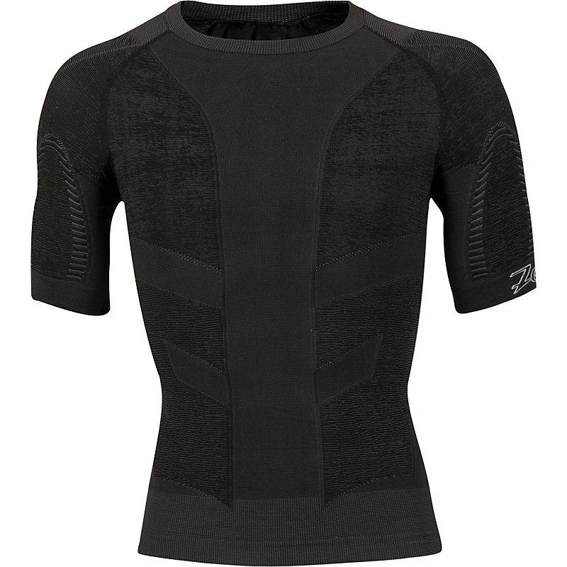 NEU-COMPRESSRX-ULTRA-ACTIVE-SS-TOP-Herren-Joggingshirt-Schwarz
