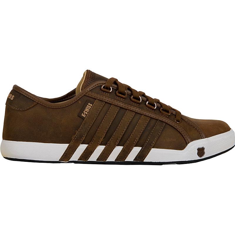NEU-K-Swiss-Newport-BRAUN-Herrenschuhe-Sneaker