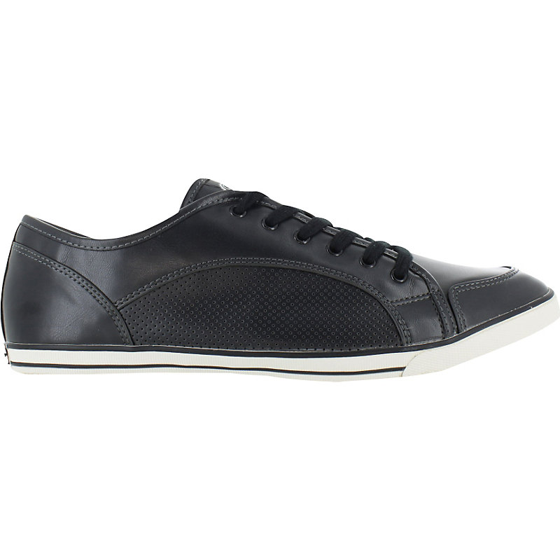 neu buffalo derby pu men schwarz herren schuhe sneaker freizeit low ebay. Black Bedroom Furniture Sets. Home Design Ideas