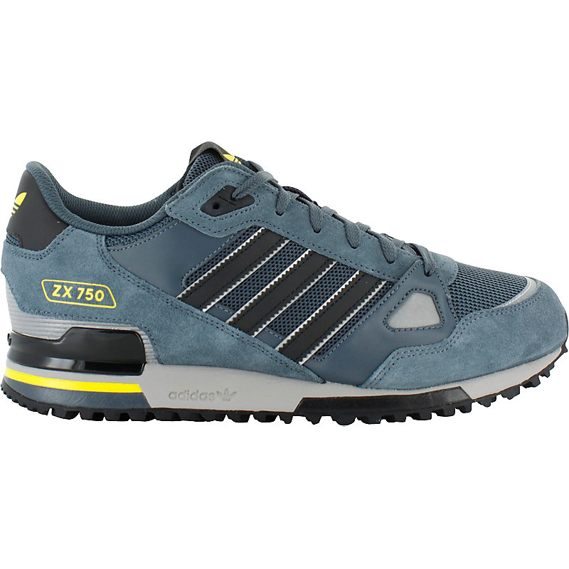 neu adidas zx 750 herren sneaker grau ebay. Black Bedroom Furniture Sets. Home Design Ideas