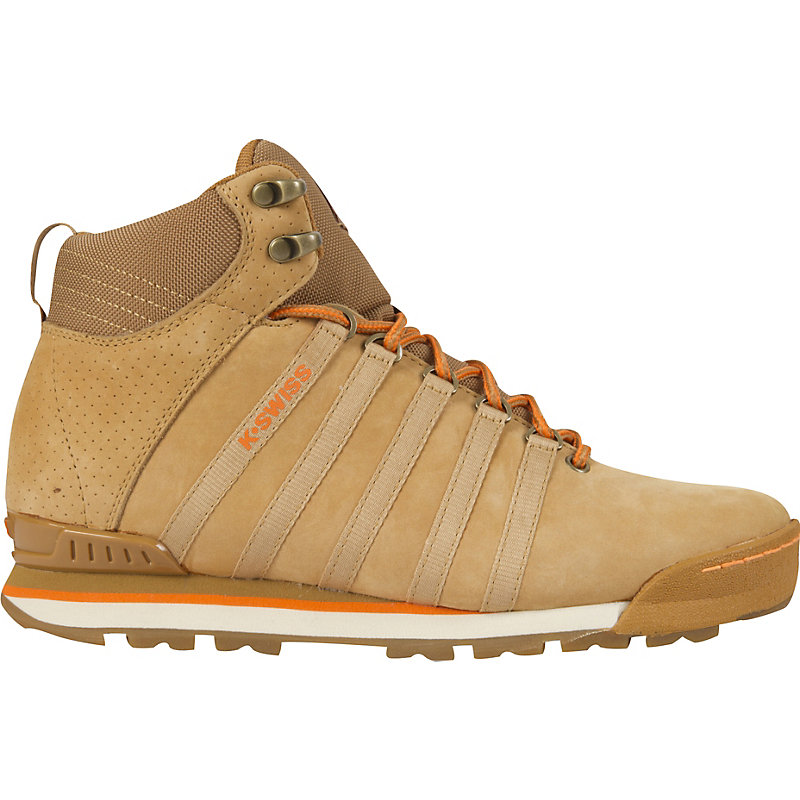 NEU-K-Swiss-Classic-Hiker-High-Herren-Sneaker-Boots-BEIGE