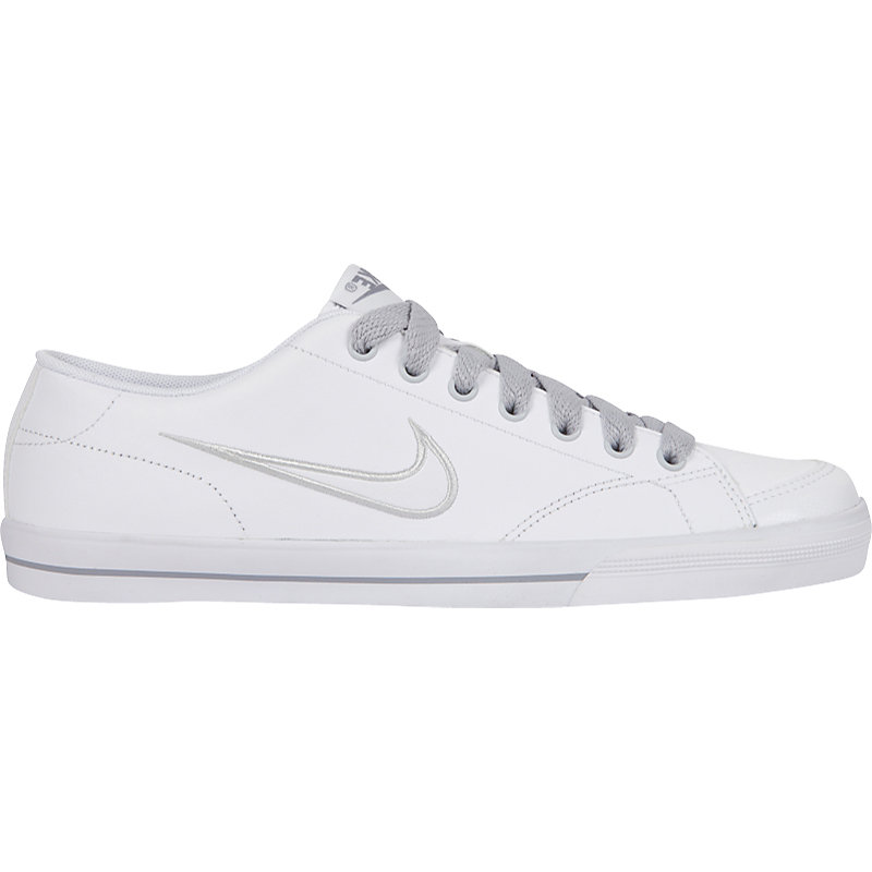 neu nike capri weiss grau damen sneaker ebay. Black Bedroom Furniture Sets. Home Design Ideas