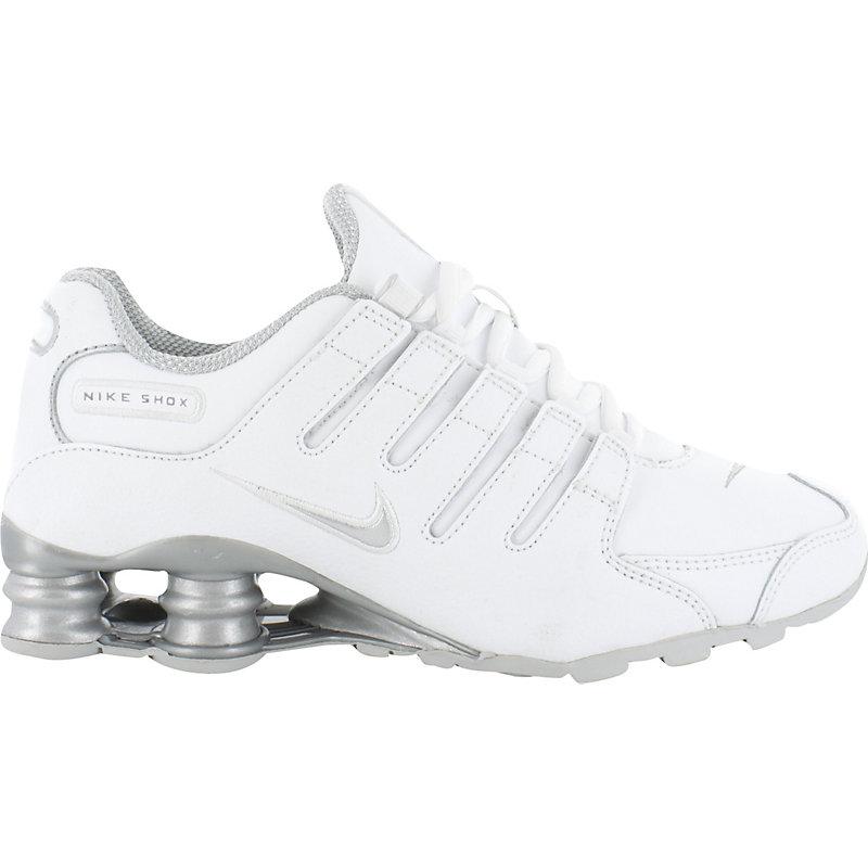 NEU-Nike-Shox-NZ-SI-WEISS-SILBER-Kinder-Sneaker