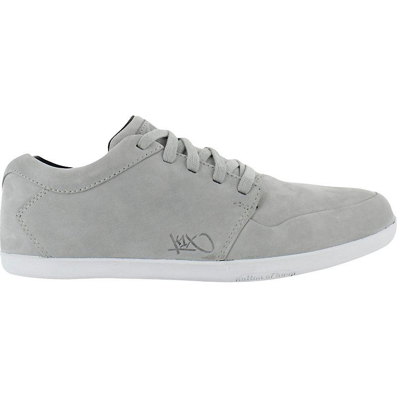NEU-k1X-LP-Low-LE-GRAU-WEISS-Herrenschuhe-Sneaker