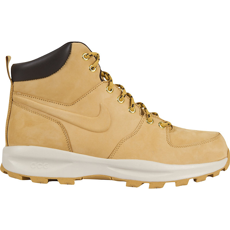 NEU] Nike Manoa Leather Herren Schuhe BEIGE Stiefel Boots Winter ...