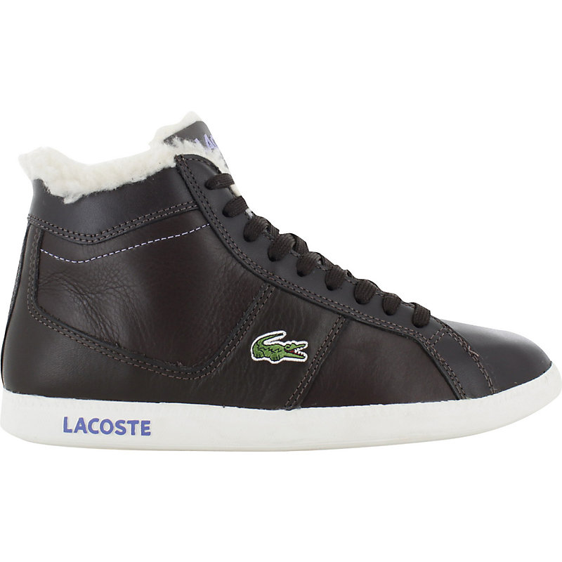 neu lacoste observe hi fur damen sneaker winter ebay. Black Bedroom Furniture Sets. Home Design Ideas