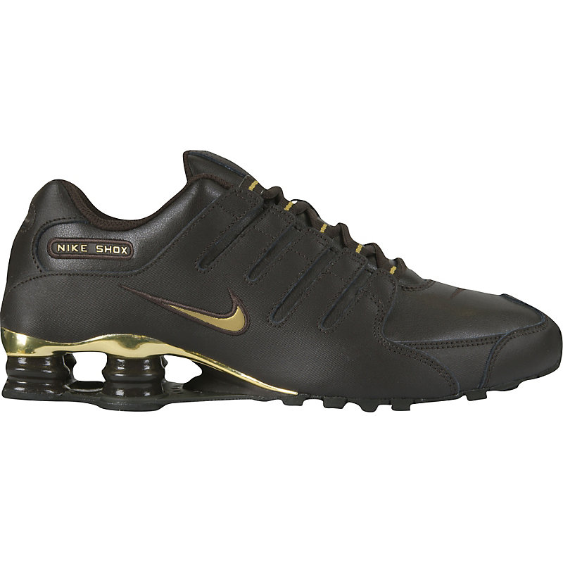 Nike Shox Braun Gold