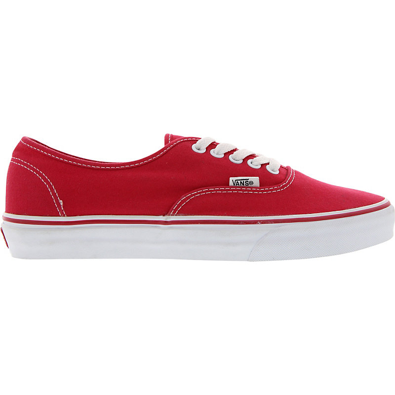 NEU-Vans-Authentic-ROT-WEISS-Unisexschuhe-Sneaker