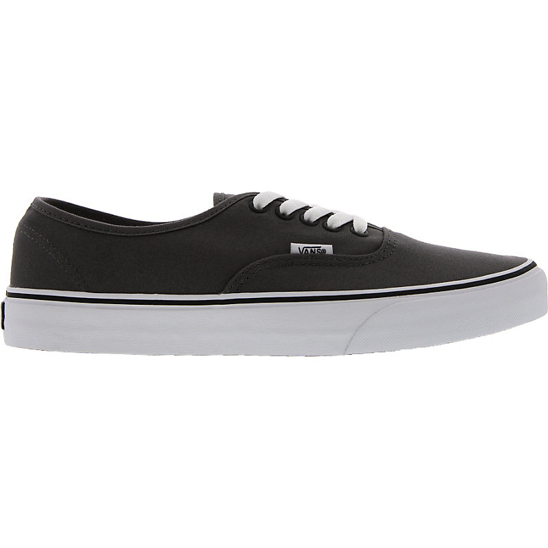 neu vans authentic grau weiss unisexschuhe sneaker ebay. Black Bedroom Furniture Sets. Home Design Ideas