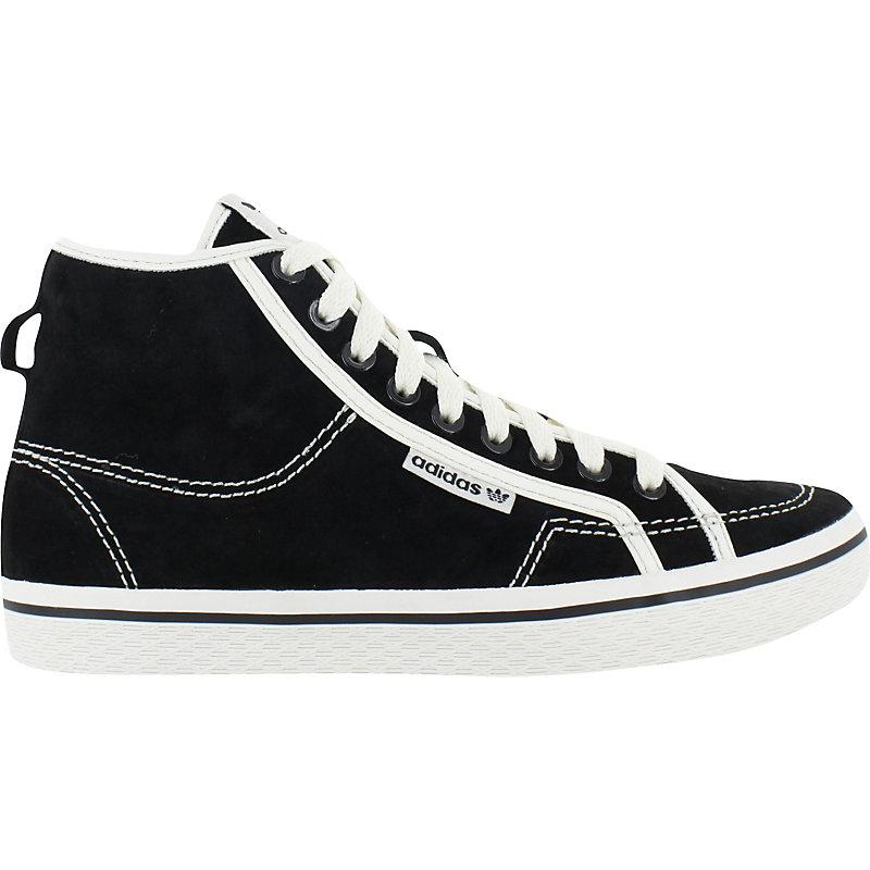 neu adidas honey mid schwarz weiss damenschuhe sneaker. Black Bedroom Furniture Sets. Home Design Ideas