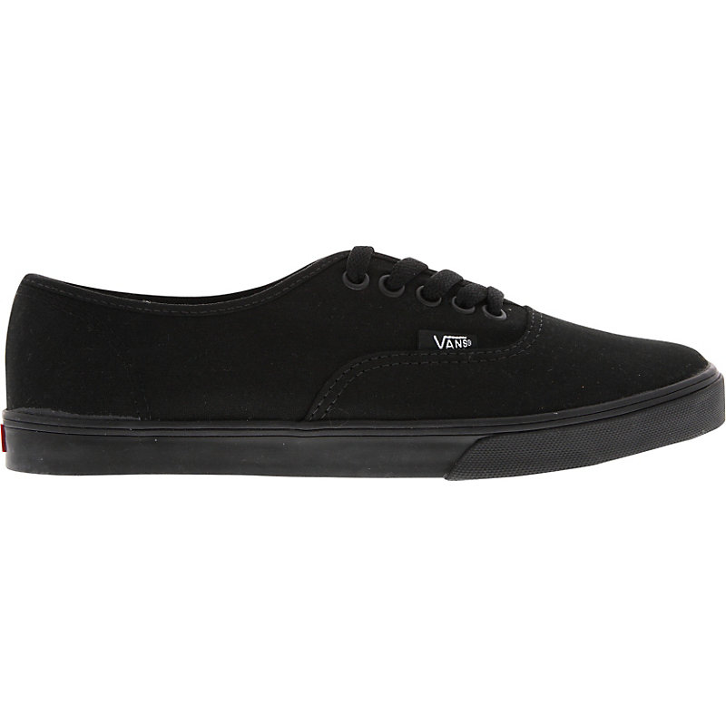 neu vans authentic lo pro damen sneaker schwarz ebay. Black Bedroom Furniture Sets. Home Design Ideas