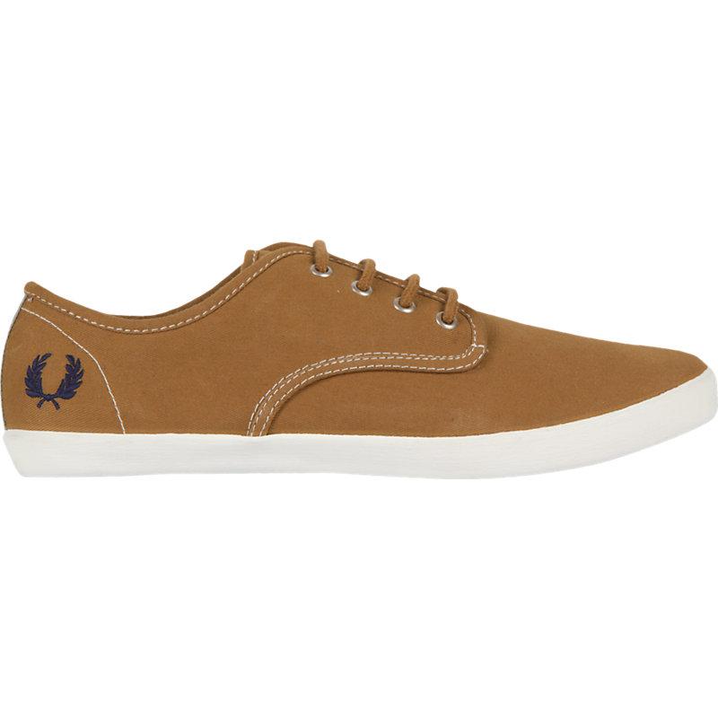 NEU-Fred-Perry-Foxx-Twill-Webbing-Herrenschuhe-Sneaker