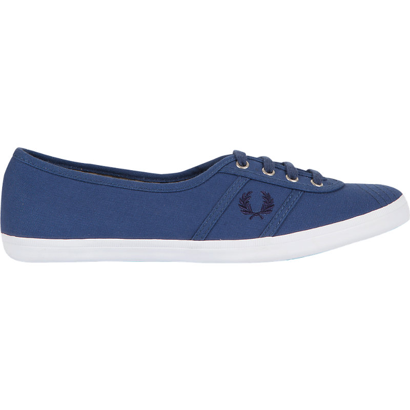 NEU-Fred-Perry-Aubrey-Canvas-Damenschuhe-Sneaker