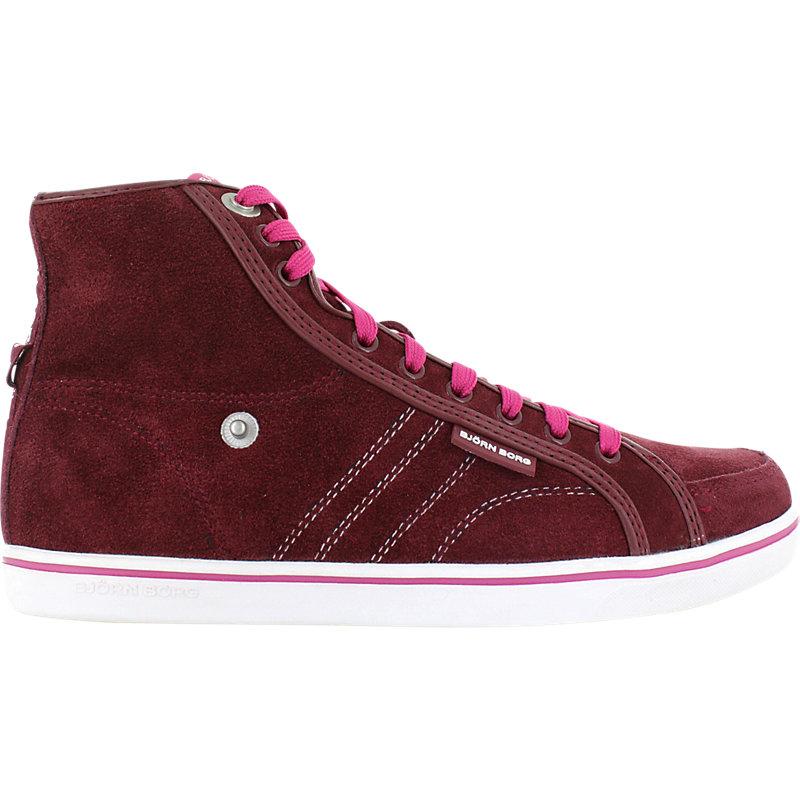 NEU-Bjoern-Borg-Lloyd-Mid-Suede-Damenschuhe-Sneaker