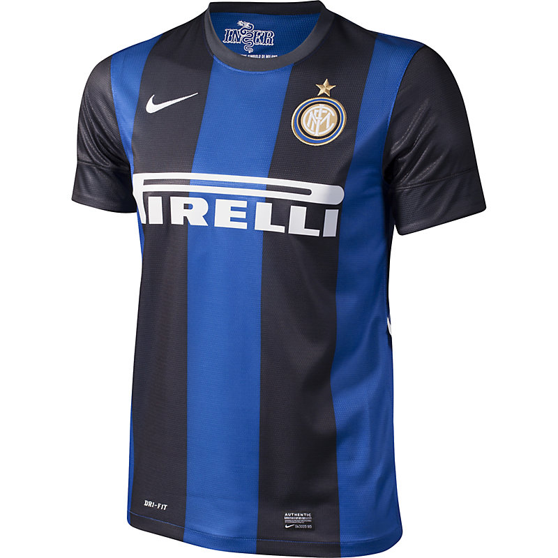Nike Inter Mailand Home Replica 12/13 Trikot
