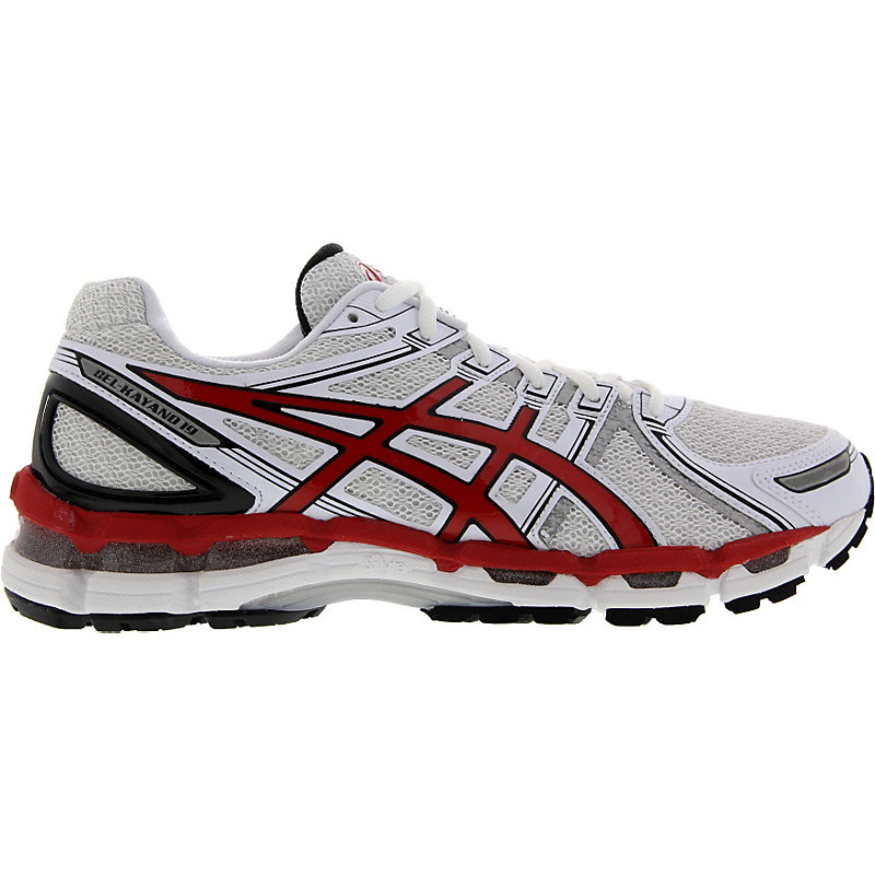 NEU-Asics-Gel-Kayano-19-Herren-Laufschuhe-Weiss-T32QQ-0122-Running-Schuhe