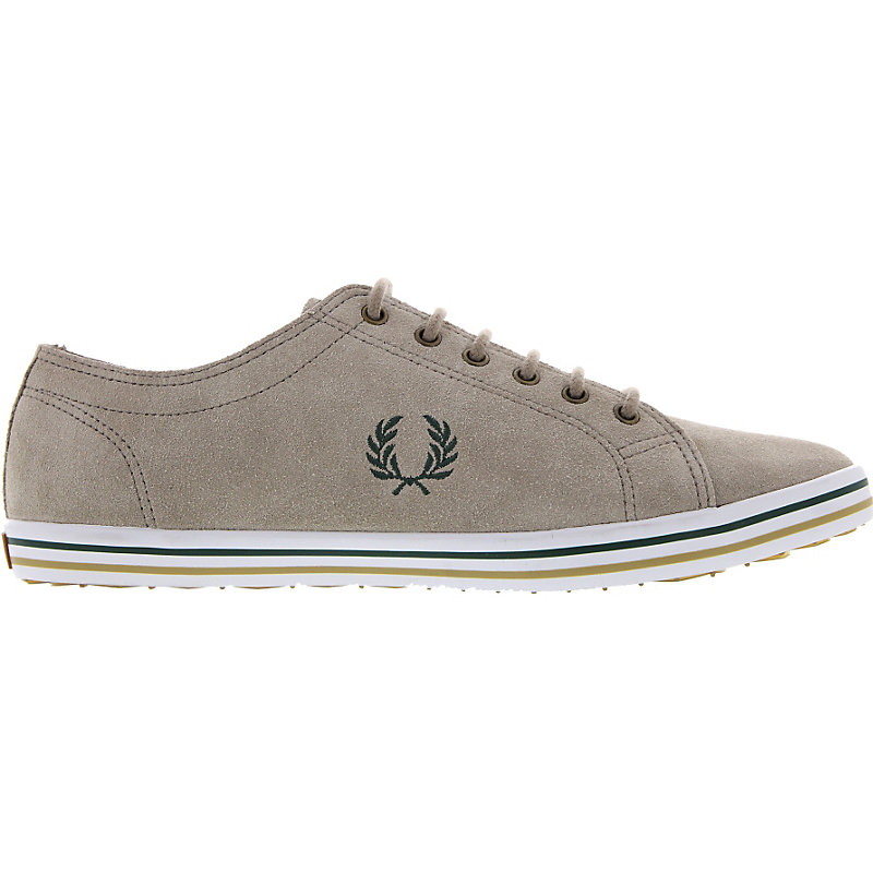 NEU-Fred-Perry-Kingston-Suede-Herrenschuhe-Sneaker