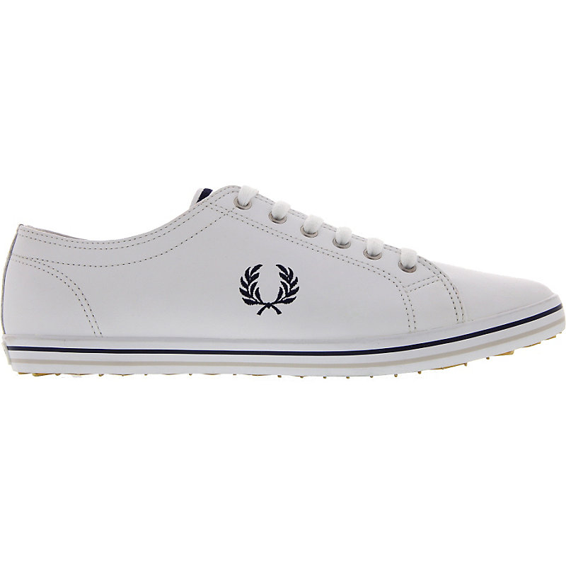NEU-Fred-Perry-Kingston-Leather-Herrenschuhe-Sneaker