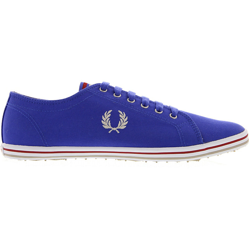 NEU-Fred-Perry-Kingston-Twill-Tipped-Herrenschuhe-Sneaker