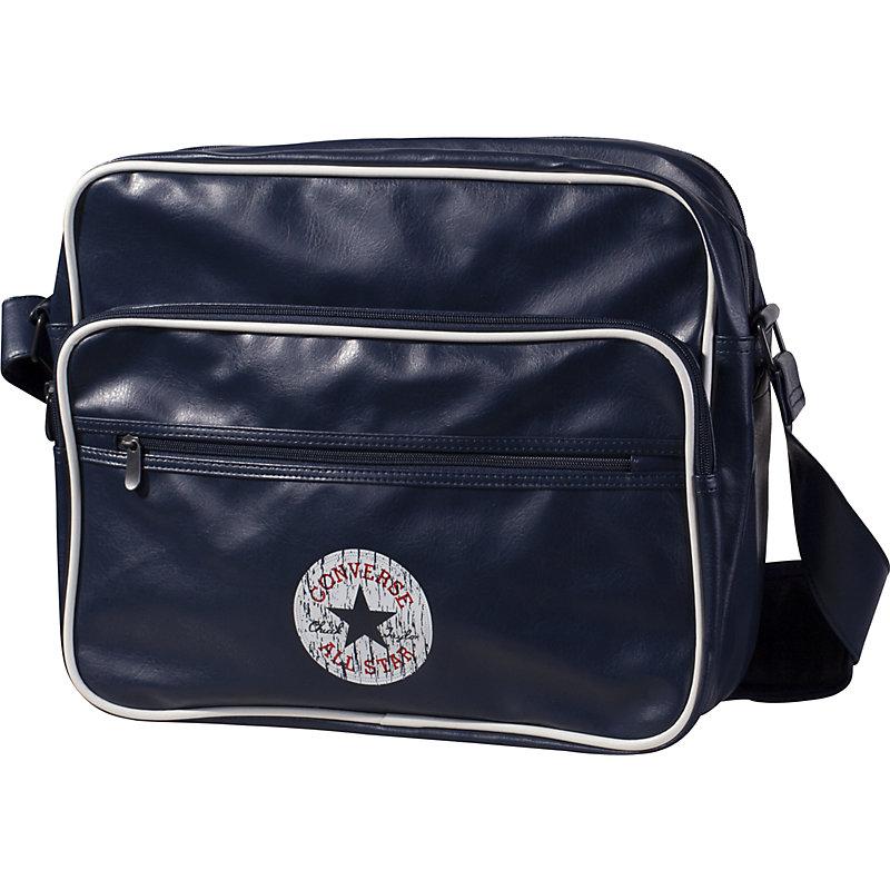 NEU-Converse-Vintage-Patch-Reporter-Lifestyle-Tasche-Blau