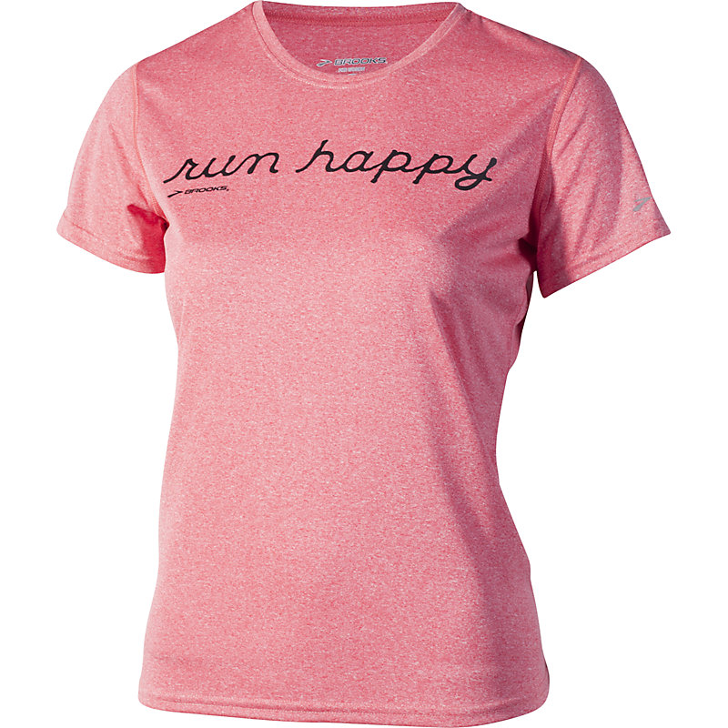 NEU-Brooks-EZ-T-Run-Happy-Damen-Jogging-Shirt