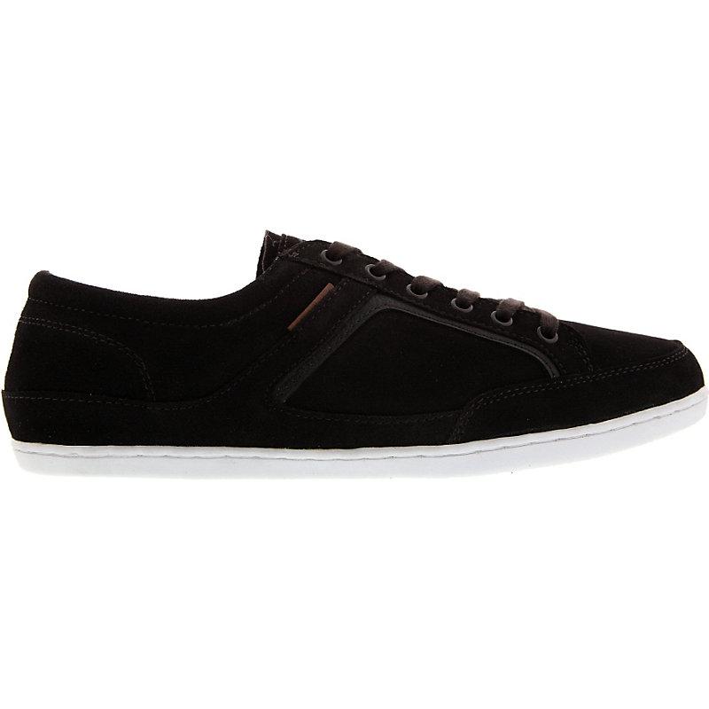 NEU-Capwave-Duke-Herrenschuhe-Sneaker-Dunkelbraun-Schuhe-Herren-Freizeit-Leder