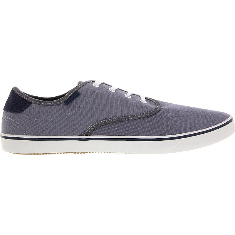 NEU-Capwave-Pickup-Canvas-Herrenschuhe-Sneaker-Grau