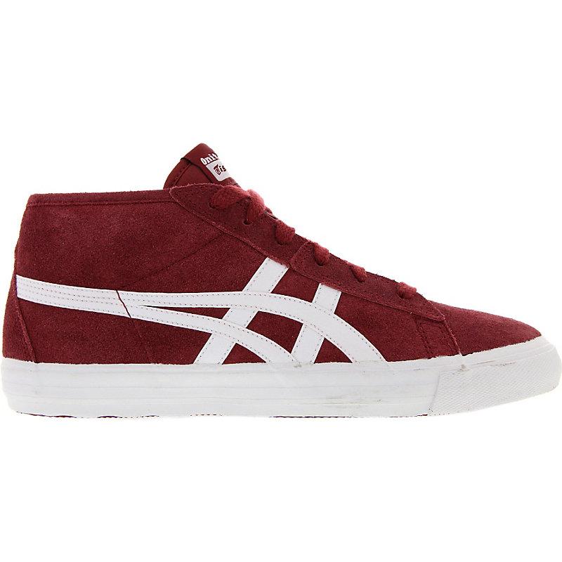 NEU-Onitsuka-Tiger-Fader-Unisex-Sneaker-Rot