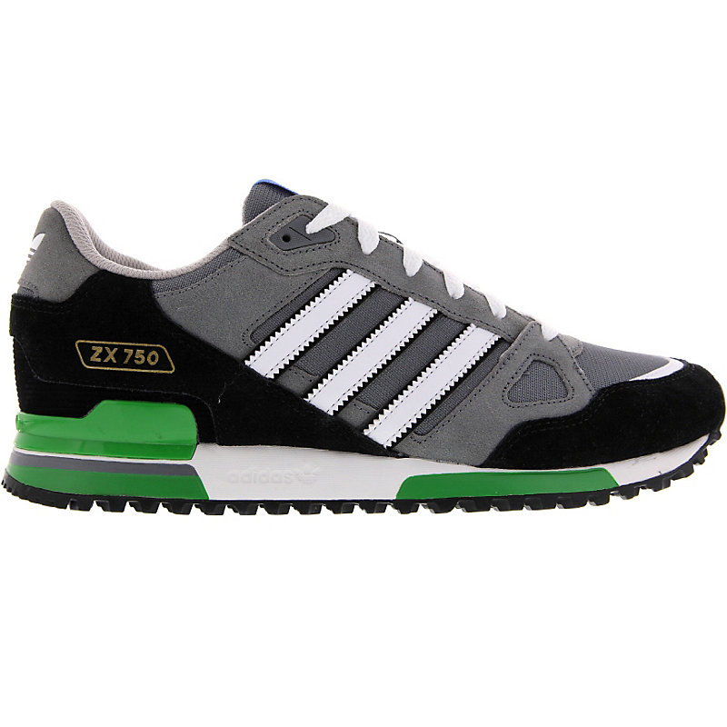 neu adidas zx 750 herrenschuhe sneaker grau ebay. Black Bedroom Furniture Sets. Home Design Ideas