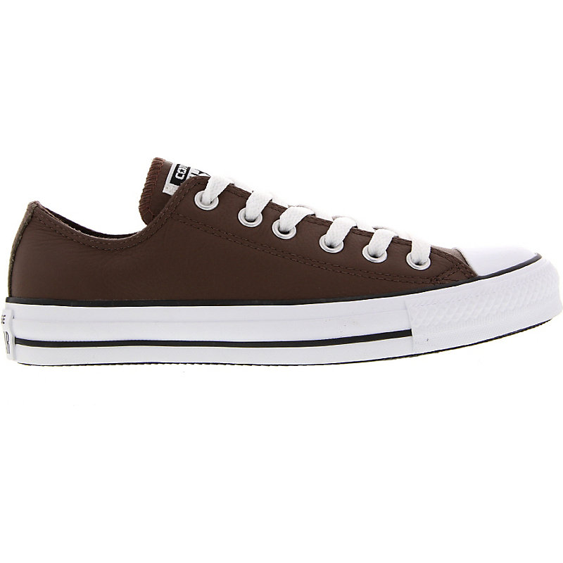 NEU-Converse-Chuck-Taylor-All-Star-Basic-Leather-Herren-Damen-Sneaker-Braun