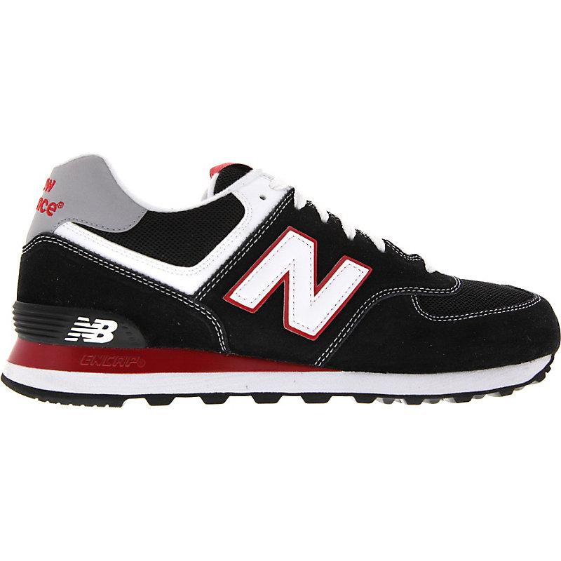 NEU-new-balance-ML-574-KRW-Herren-Sneaker-Schwarz