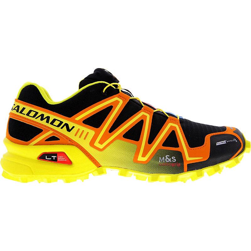 NEU-Salomon-Speedcross-3-CS-Herren-Joggingschuhe-Gelb