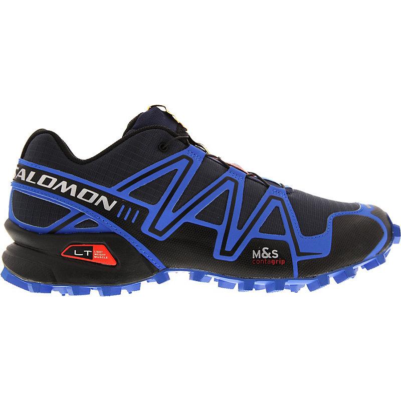 NEU-Salomon-Speedcross-3-Herren-Gelaendeschuhe-Blau