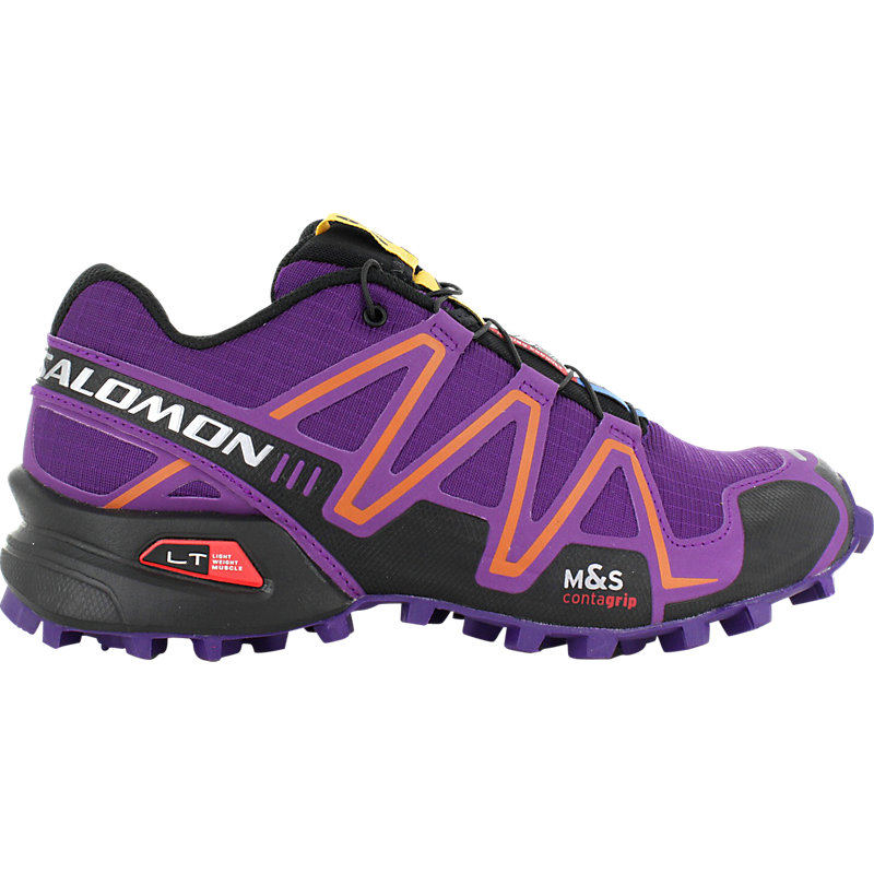 NEU-Salomon-Speedcross-3-Damen-Joggingschuhe-Lila