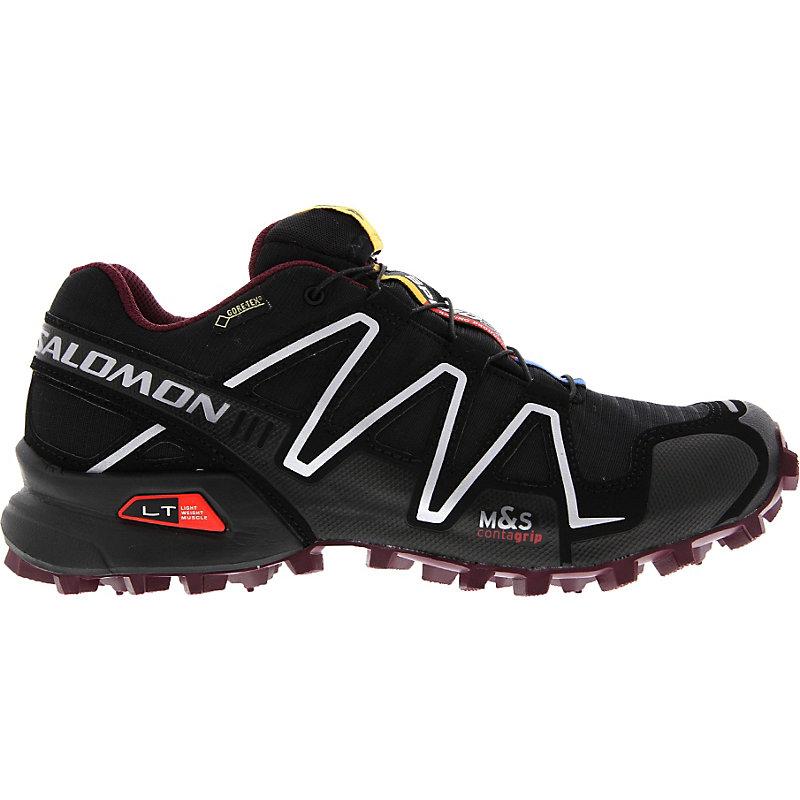 neu salomon speedcross 3 gtx damen joggingschuhe schwarz. Black Bedroom Furniture Sets. Home Design Ideas