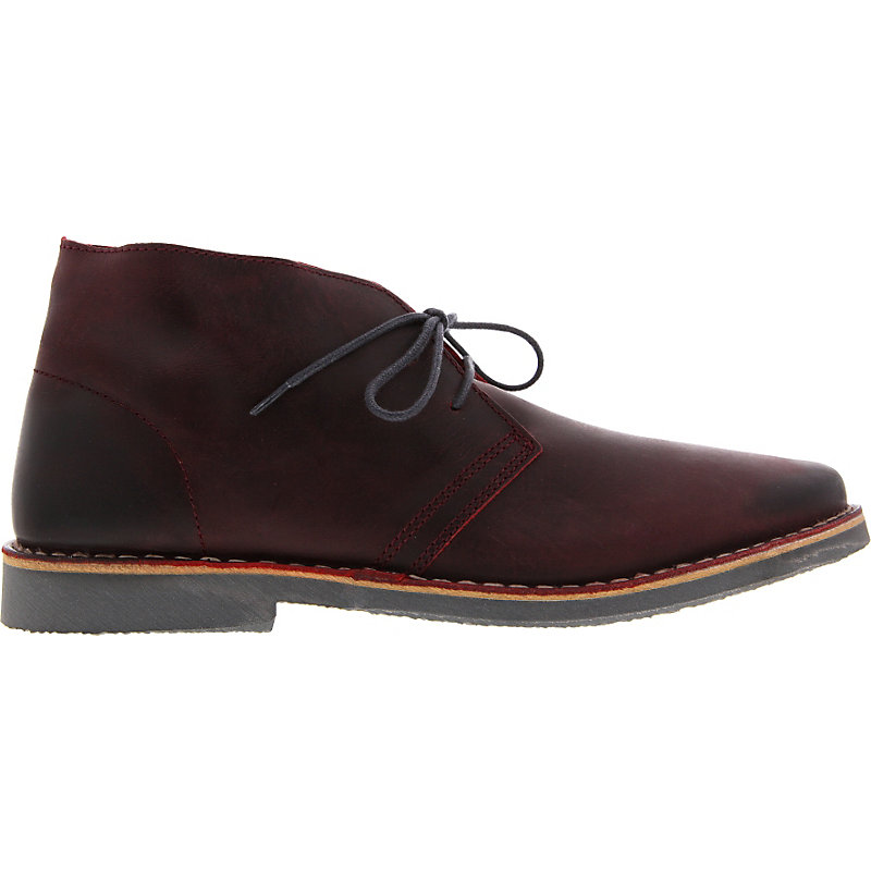 NEU-Selected-Leon-Leather-Herrenschuhe-Sneaker-Rot