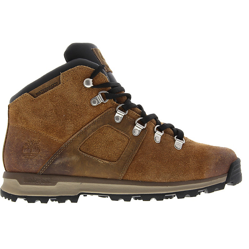 NEU-Timberland-Earthkeepers-Scramble-Mid-Leather-Herrenschuhe-Sneaker-Braun