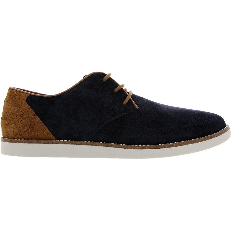 NEU-Fred-Perry-Hewitt-Suede-Herrenschuhe-Sneaker-Blau