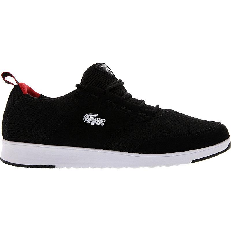 NEU-Lacoste-Light-01-Herrenschuhe-Sneaker-Schwarz