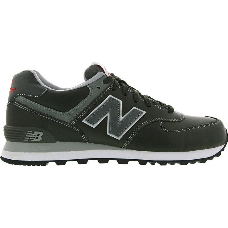 NEU-new-balance-574-Herrenschuhe-Sneaker-Grau