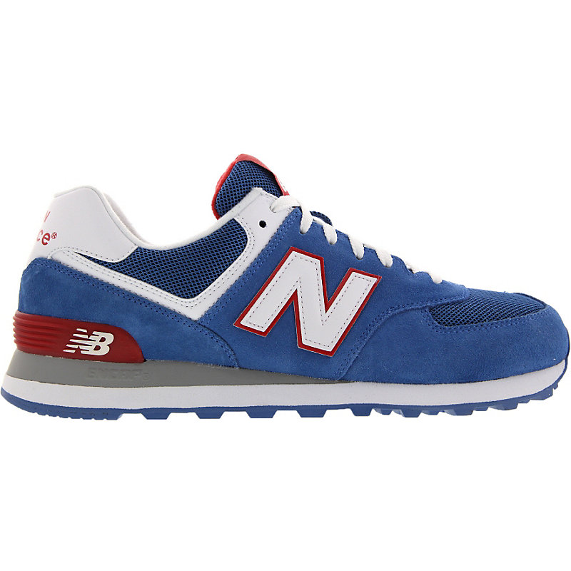 new balance 574 herrenschuhe blau