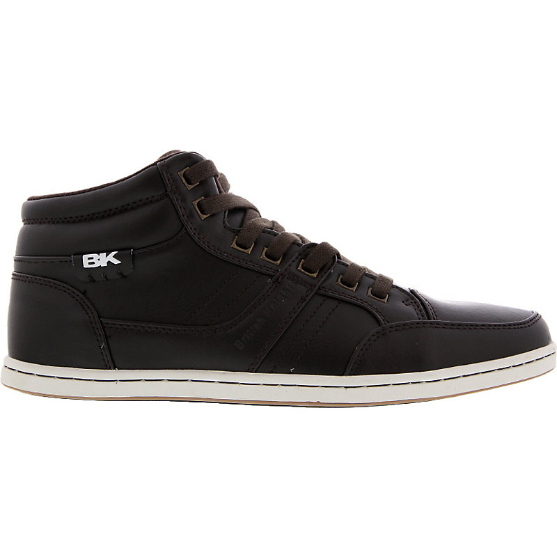 NEU-British-Knights-Re-Style-Mid-Herrenschuhe-Sneaker-Braun