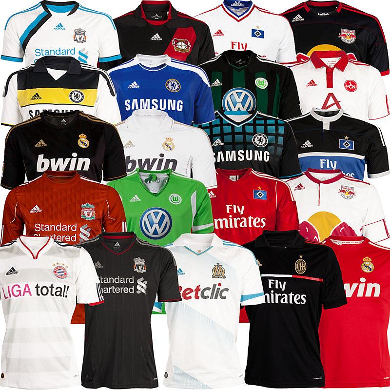 neu adidas 21 versch fussballtrikots saison 2011 12 national international eur 27 90. Black Bedroom Furniture Sets. Home Design Ideas